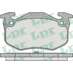 Комплект тормозных колодок, дисковый тормоз (Lpr) 05P582