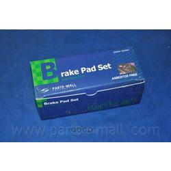 Комплект тормозных колодок (Parts-Mall) PKF010
