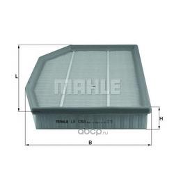 Воздушный фильтр (Mahle/Knecht) LX1250