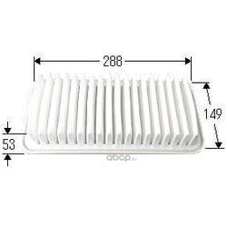 Воздушный фильтр (VIC) A1003