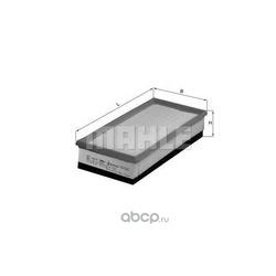 Воздушный фильтр (Mahle/Knecht) LX1610