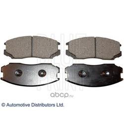 Комплект тормозных колодок, дисковый тормоз (Blue Print) ADC44245