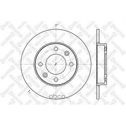 Тормозной диск (Stellox) 60203722SX