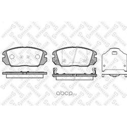 Комплект тормозных колодок (Stellox) 002006SX
