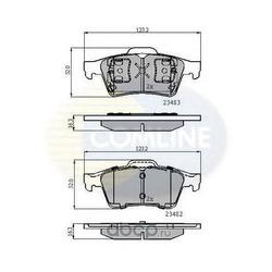 Комплект тормозных колодок, дисковый тормоз (Comline) CBP0946