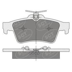 Колодки торм.RR (SCT) SP357