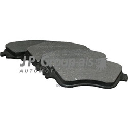 Колодки тормозные дисковые передние / OPEL Corsa-C, Meriva (JP Group) 1263601110