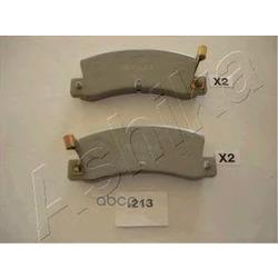 Комплект тормозных колодок, дисковый тормоз (Ashika) 5102213