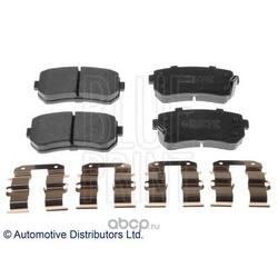Комплект тормозных колодок, дисковый тормоз (Blue Print) ADG042119
