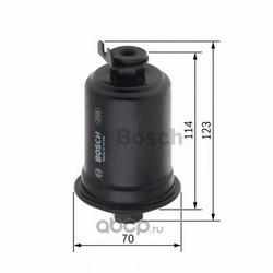 Топливный фильтр (Bosch) 0986450107