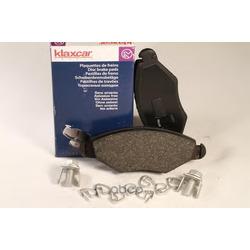 Комплект тормозных колодок, дисковый тормоз (Klaxcar) 24733Z