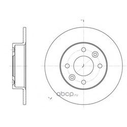 Тормозной диск (Remsa) 606600