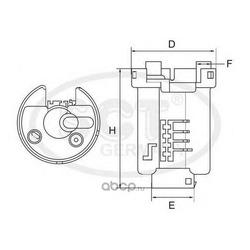 Топливный фильтр (SCT) ST495