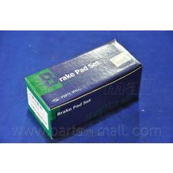 Комплект тормозных колодок (Parts-Mall) PKA038