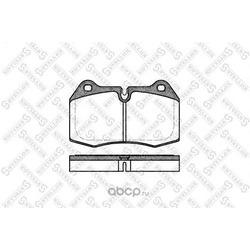 Комплект тормозных колодок, дисковый тормоз (Stellox) 452000SX