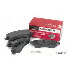 Тормозные колодки дисковые передние (Ween) 1511323
