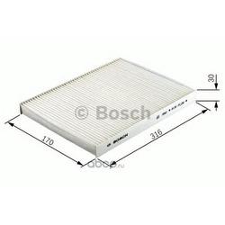 Фильтр, воздух во внутреннем пространстве (Bosch) 1987432102