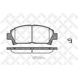 Комплект тормозных колодок (Stellox) 438002SX
