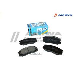 КОЛОДКИ ТОРМОЗНЫЕ ДИСКОВЫЕ ПЕРЕДНИЕ (Amiwa) CD6070