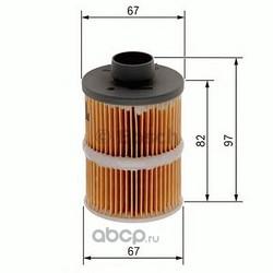 Топливный фильтр (Bosch) 1457070001