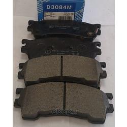 Колодки тормозные дисковые c датчиком изноза, комплект (Kashiyama) D3084M