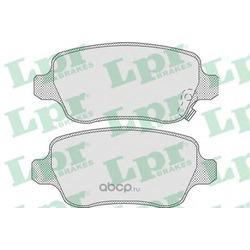Комплект тормозных колодок, дисковый тормоз (Lpr) 05P811