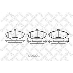 Комплект тормозных колодок (Stellox) 904002BSX
