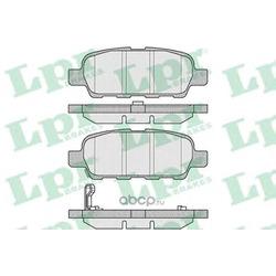 Комплект тормозных колодок, дисковый тормоз (Lpr) 05P857