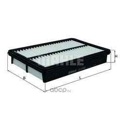 Воздушный фильтр (Mahle/Knecht) LX4143