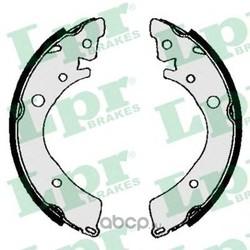 Комплект тормозных колодок (Lpr) 04350