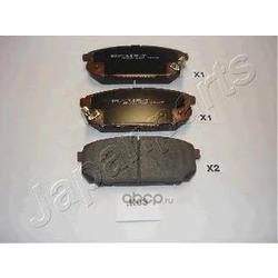 Колодки тормозные дисковые задние, комплект (Japanparts) PPK03AF
