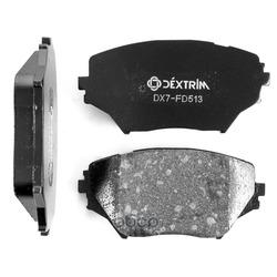 Колодки тормозные передние (Dextrim) DX7FD513