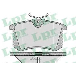 Комплект тормозных колодок, дисковый тормоз (Lpr) 05P868
