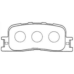 Колодки тормозные дисковые (FIT) FP0885