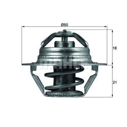 Термостат, охлаждающая жидкость (Mahle/Knecht) TX10089D
