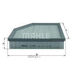 Воздушный фильтр (Mahle/Knecht) LX944