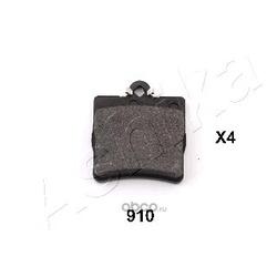 Комплект тормозных колодок, дисковый тормоз (Ashika) 5109910