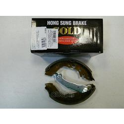 Колодки тормозные барабанные задние к-т (HSB) HS0001