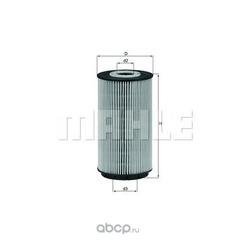 Масляный фильтр (Mahle/Knecht) OX557D