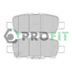 Комплект тормозных колодок (PROFIT) 50001693