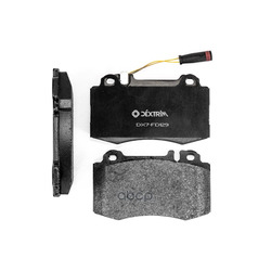 Колодки тормозные передние (Dextrim) DX7FD129