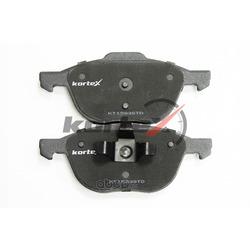 Комплект тормозных колодок, дисковый тормоз (KORTEX) KT1583STD