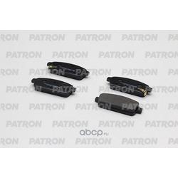 Колодки тормозные дисковые задн CHEVROLET: CRUZE 09-, ORLANDO 1.8, 2.0D 10-, LACETTI 06-09 / OPEL: ASTRA J 09- (произведено в Корее) (PATRON) PBP4265KOR