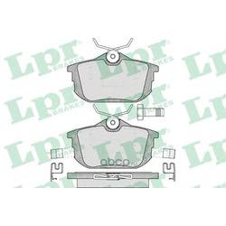 Комплект тормозных колодок, дисковый тормоз (Lpr) 05P621