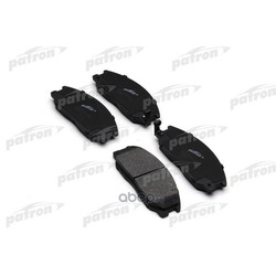 Колодки тормозные дисковые передн HYUNDAI: HIGHWAY VAN 00-, SANTA FE 01-, TRAJET 00- (PATRON) PBP1605