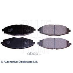 Колодки тормозные дисковые передние, комплект (Blue Print) ADG04268