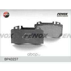 Комплект тормозных колодок, дисковый тормоз (FENOX) BP43237