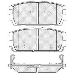 Колодки тормозные дисковые (FIT) FP2390