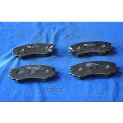 Комплект тормозных колодок (Parts-Mall) PKA004