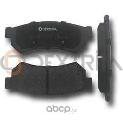 Колодки тормозные передние (Dextrim) DX7RD168